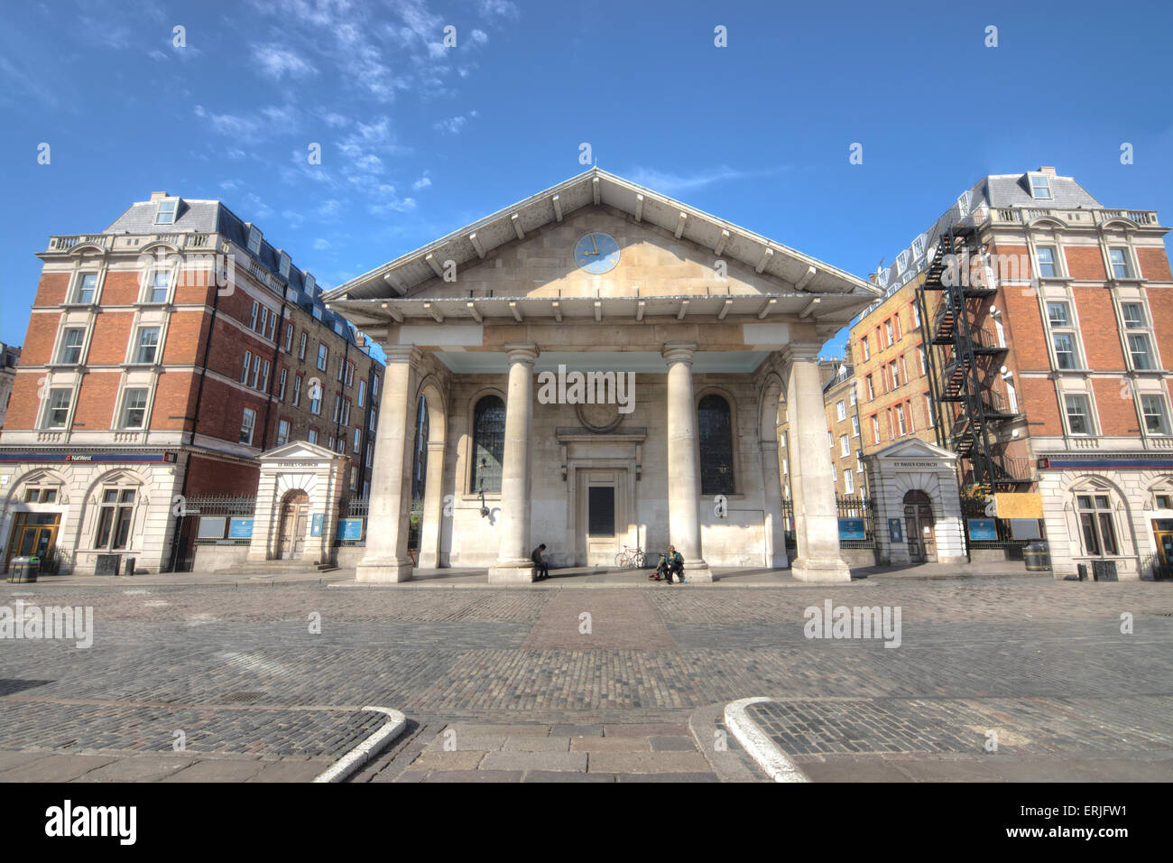 Covent Garden Market London St Paul 39 S Church Stock Photo Royalty Free Image 83386157 Alamy
