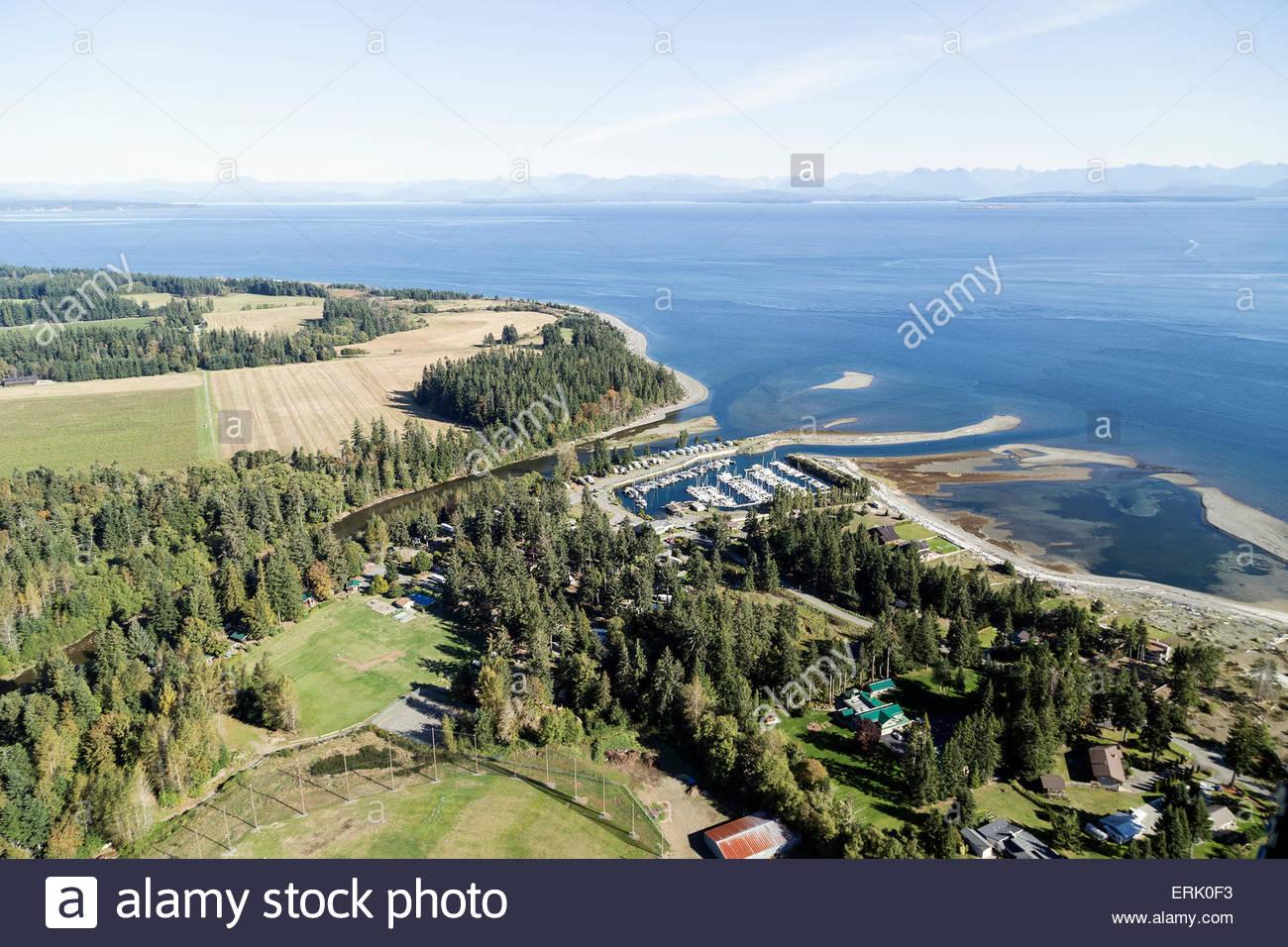Saratoga Beach Resort; Campbell River, Vancouver Island, British Columbia,  Canada
