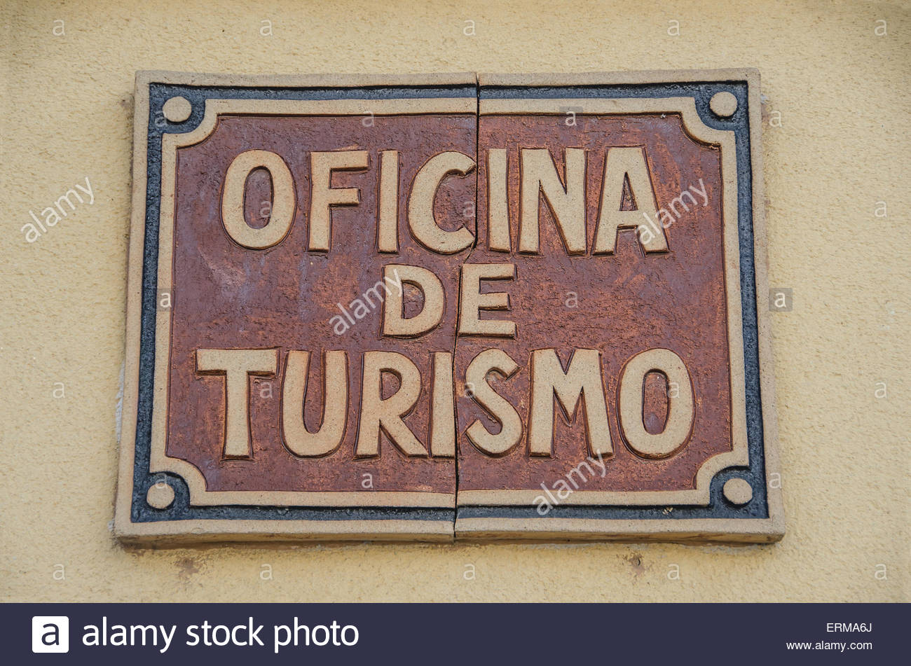 Spanish tourist office sign oficina de turismo tourist for Oficina de turismo amsterdam