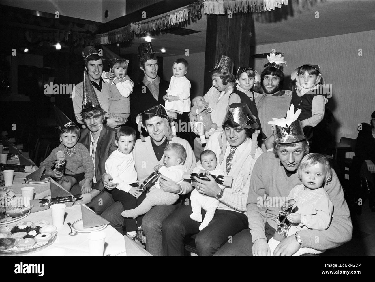 Christmas Party Birmingham Part - 30: Birmingham City Players Enjoying The Clubu0027s Christmas Party With Their  Children. With Their Children Back