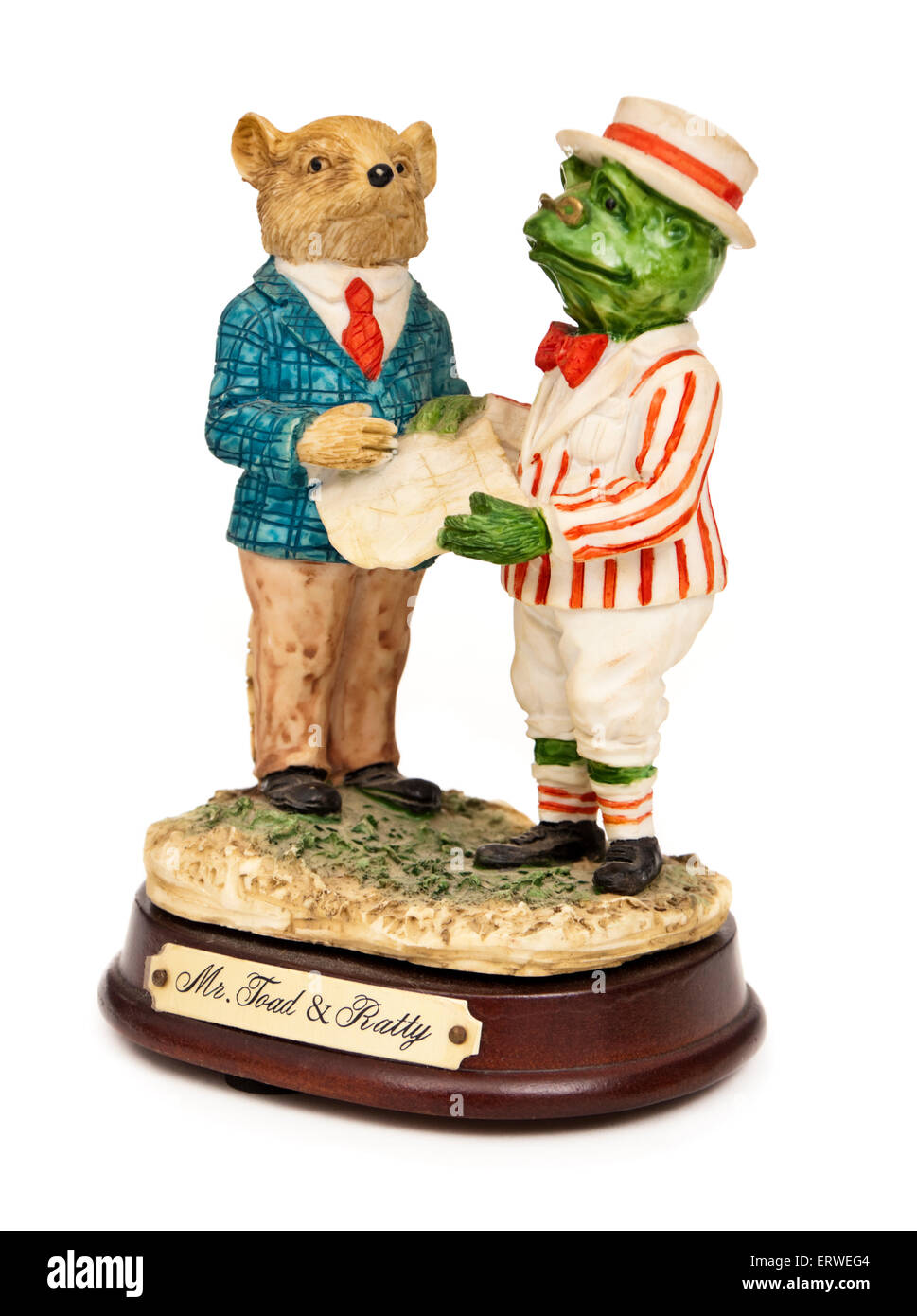 Wind in the willows ornaments - Handpainted Ornament Featuring Mr Toad And Ratty From The Popular Children S Novel Wind In The Willows By Kenneth Grahame