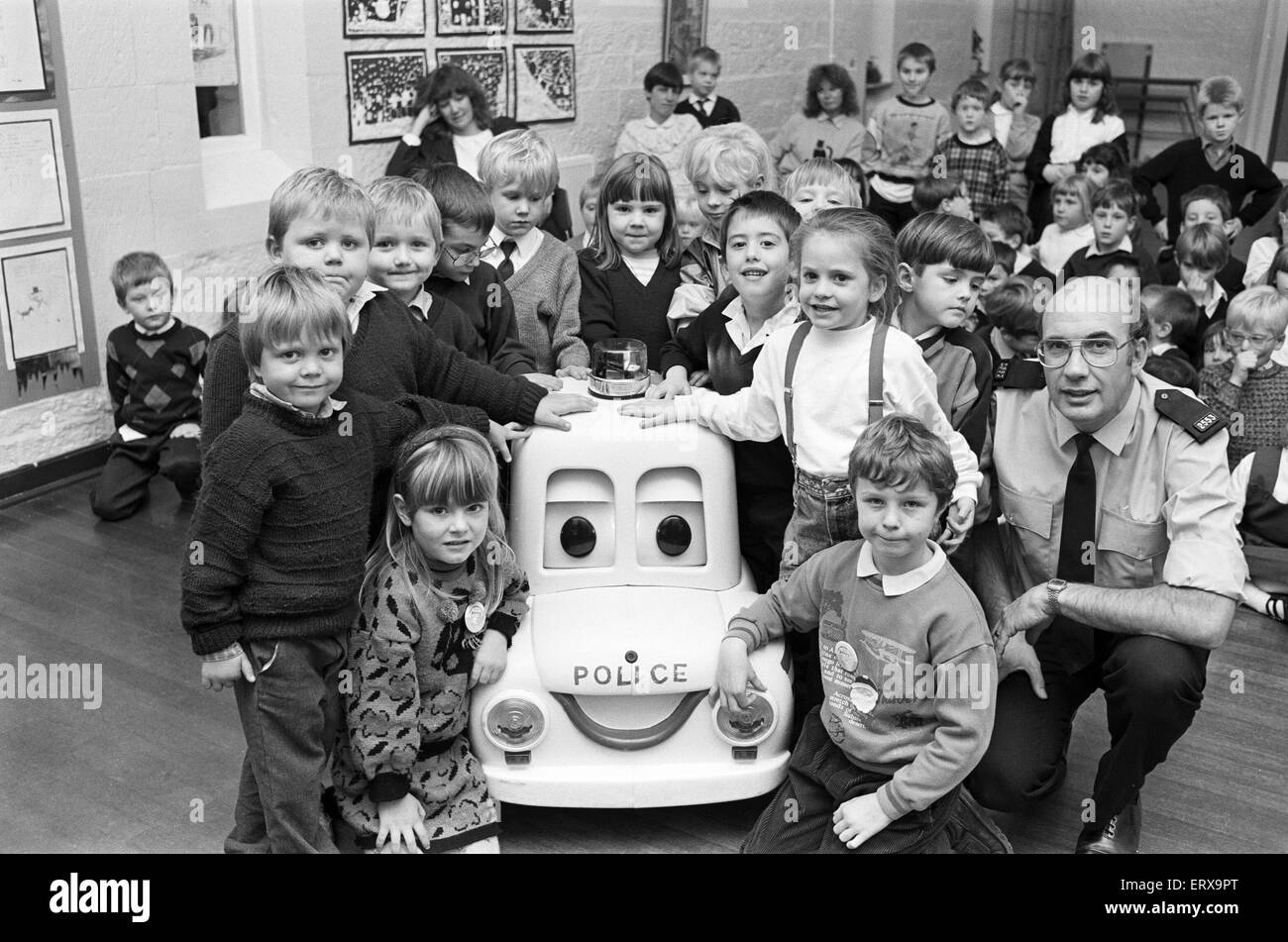 Percy The Police Car Visits Kaye S First School Clayton West With