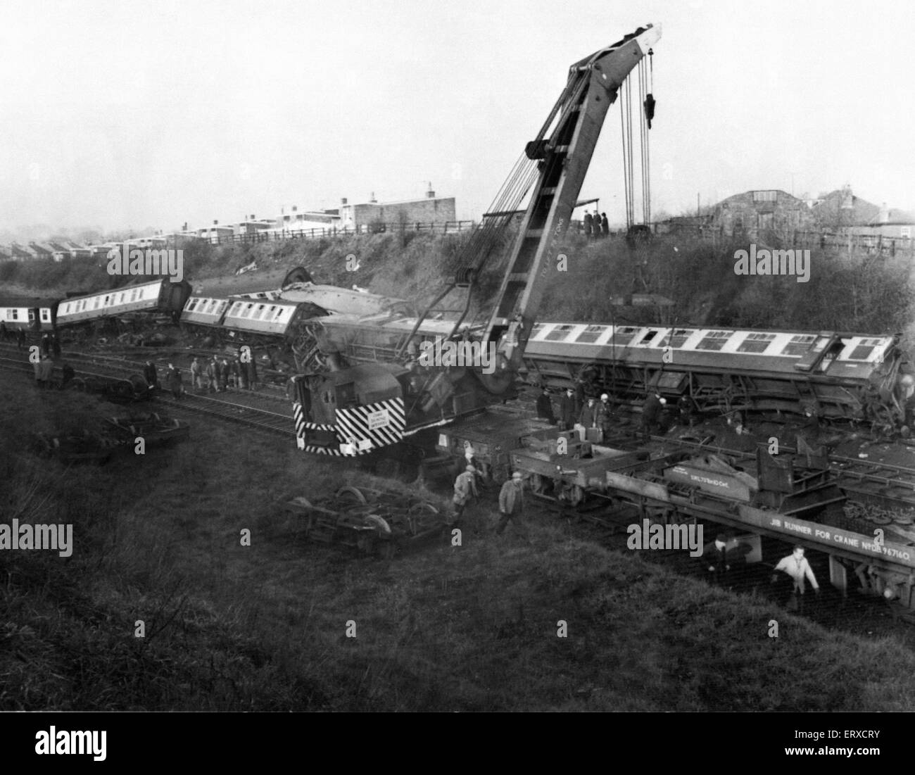 Morpeth Rail Crash On 7 May 1969 a northbound sleeper ...