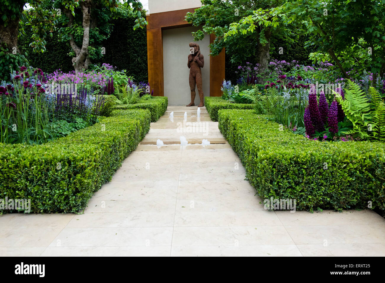 The morgan stanley healthy cities garden gold medal winner rhs stock photo royalty free image - Chelsea flower show gold medal winners ...