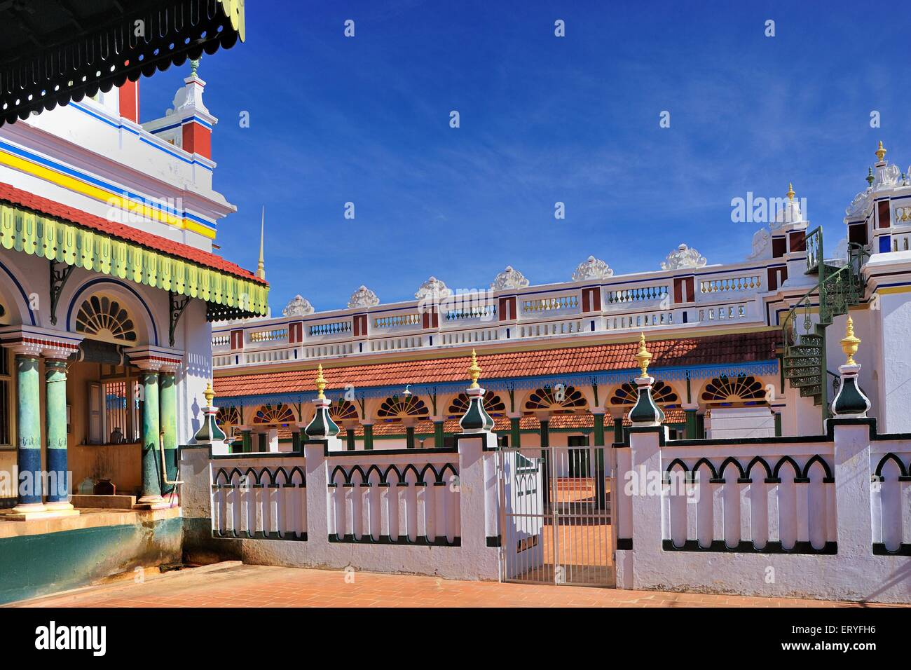 Old house at Chettinad near Karaikudi ; Tamil Nadu ; India Stock ...