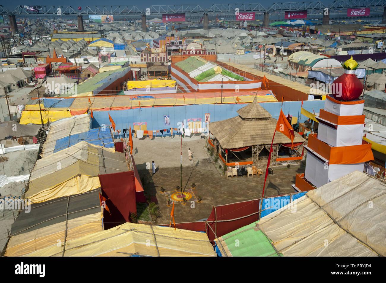 plastic Tent House in kumbha mela allahabad uttar pradesh India & plastic Tent House in kumbha mela allahabad uttar pradesh India ...