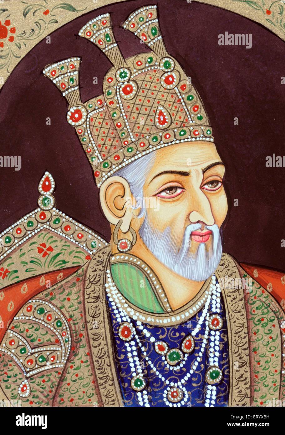 Mughal emperor bahadur shah zafar