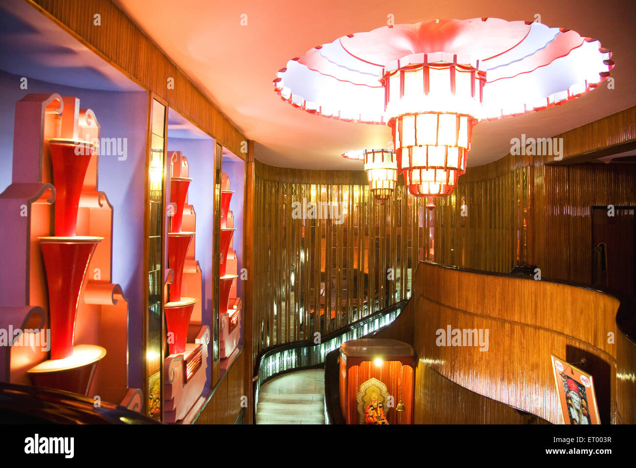 Interior Design Of Maratha Mandir Theatre Bombay Mumbai