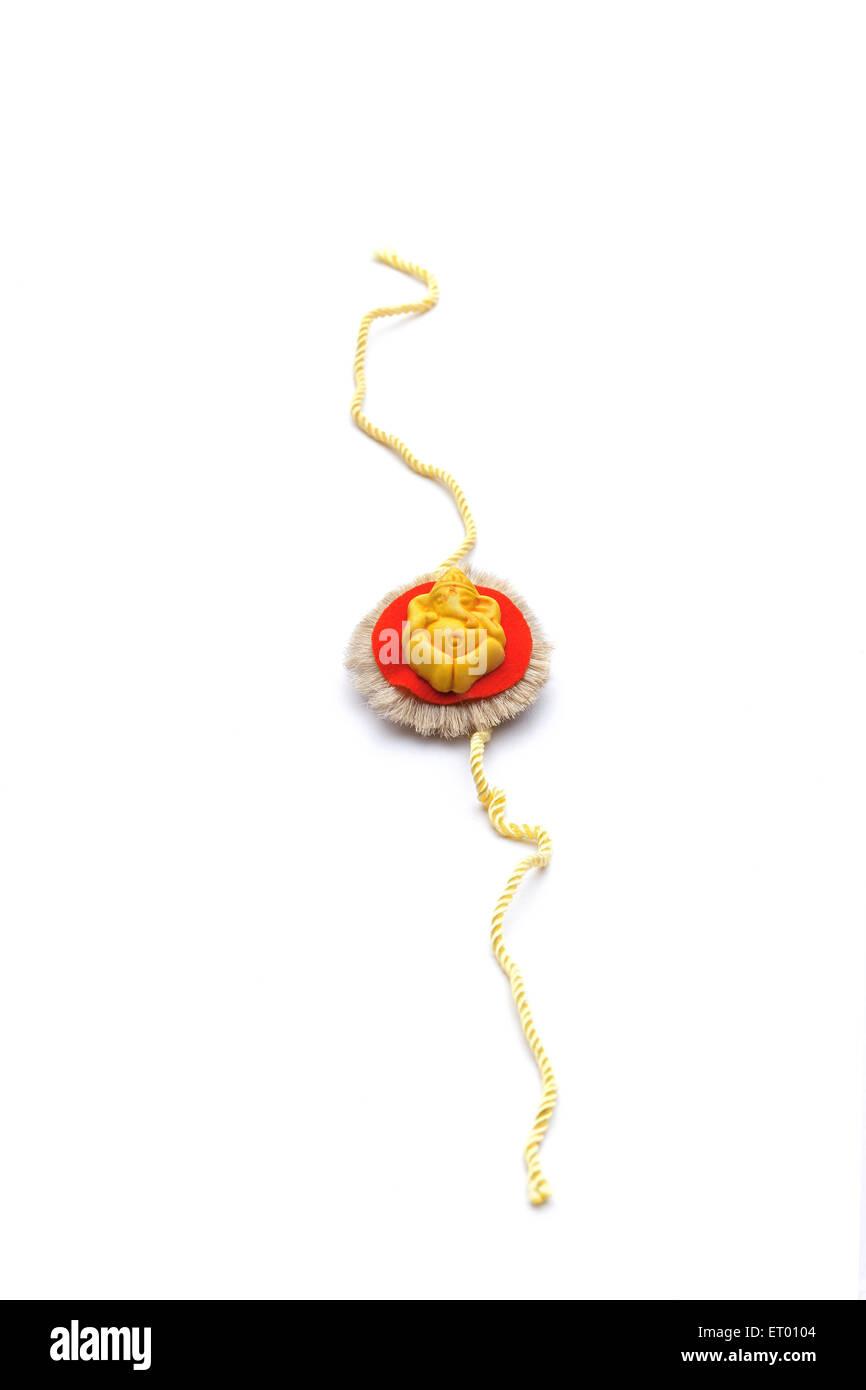 Rakhi with religious symbol of lord ganesha raksha bandhan rakhi with religious symbol of lord ganesha raksha bandhan festival india biocorpaavc