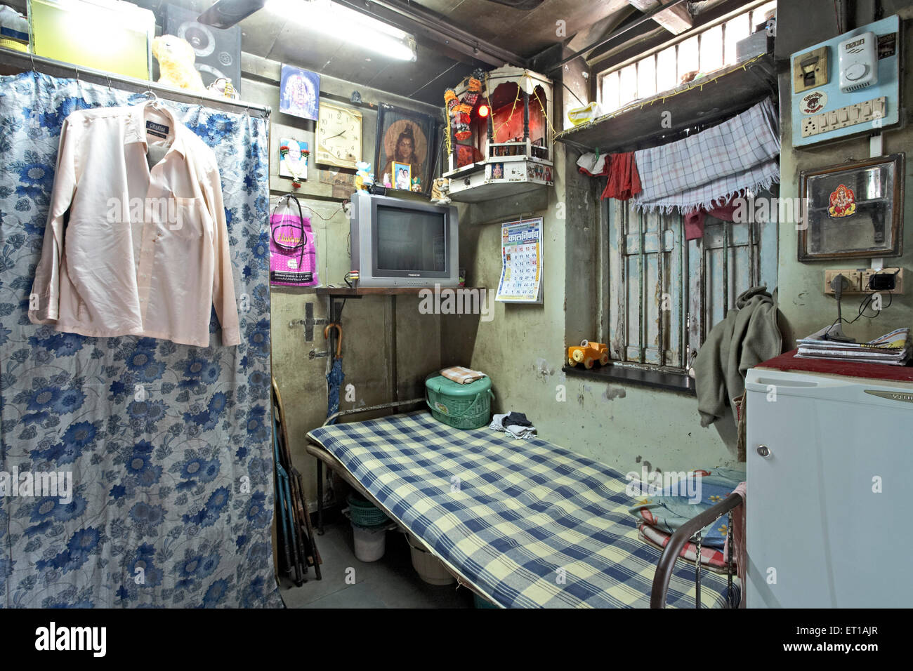 One room house textile mill chawl mumbai india asia stock for One room home
