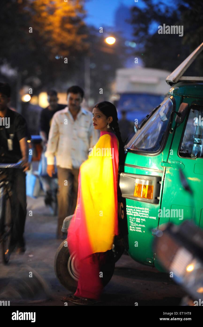 Prostitute in Kamathipura ; Bombay Mumbai ; Maharashtra