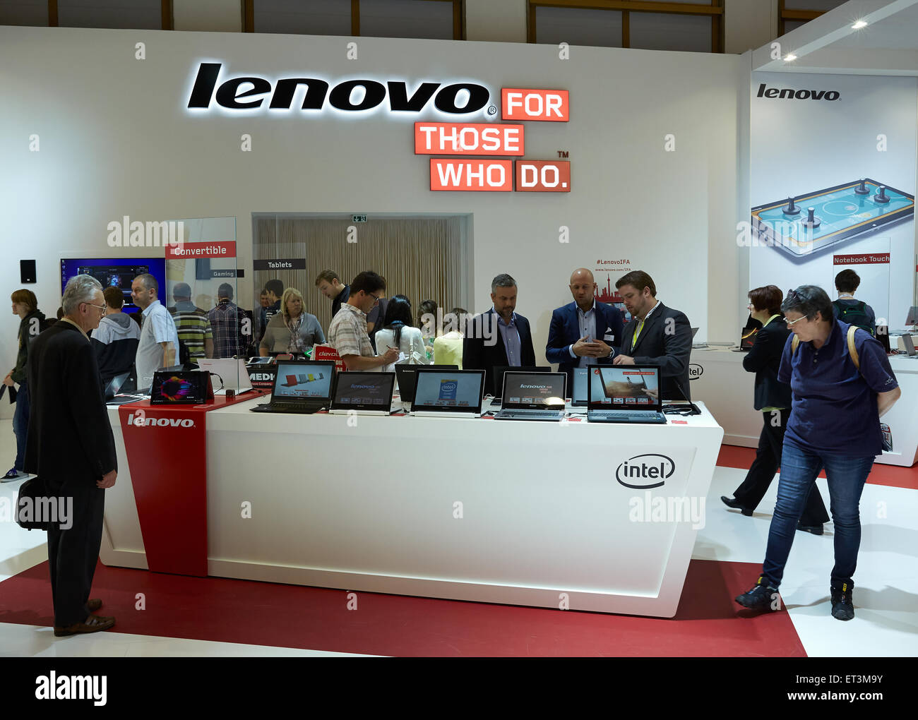 Berlin germany booth computer manufacturer lenovo stock photo berlin germany booth computer manufacturer lenovo buycottarizona