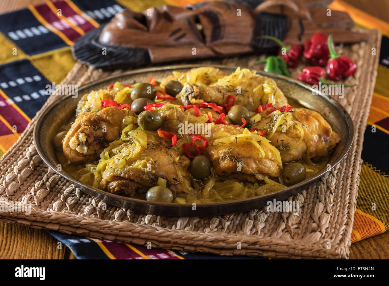 West African Chicken Stew Africa Food