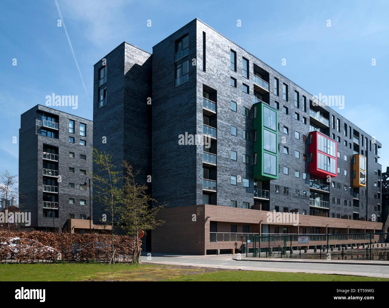 Apartments At Potato Wharf Castlefield Manchester England Uk