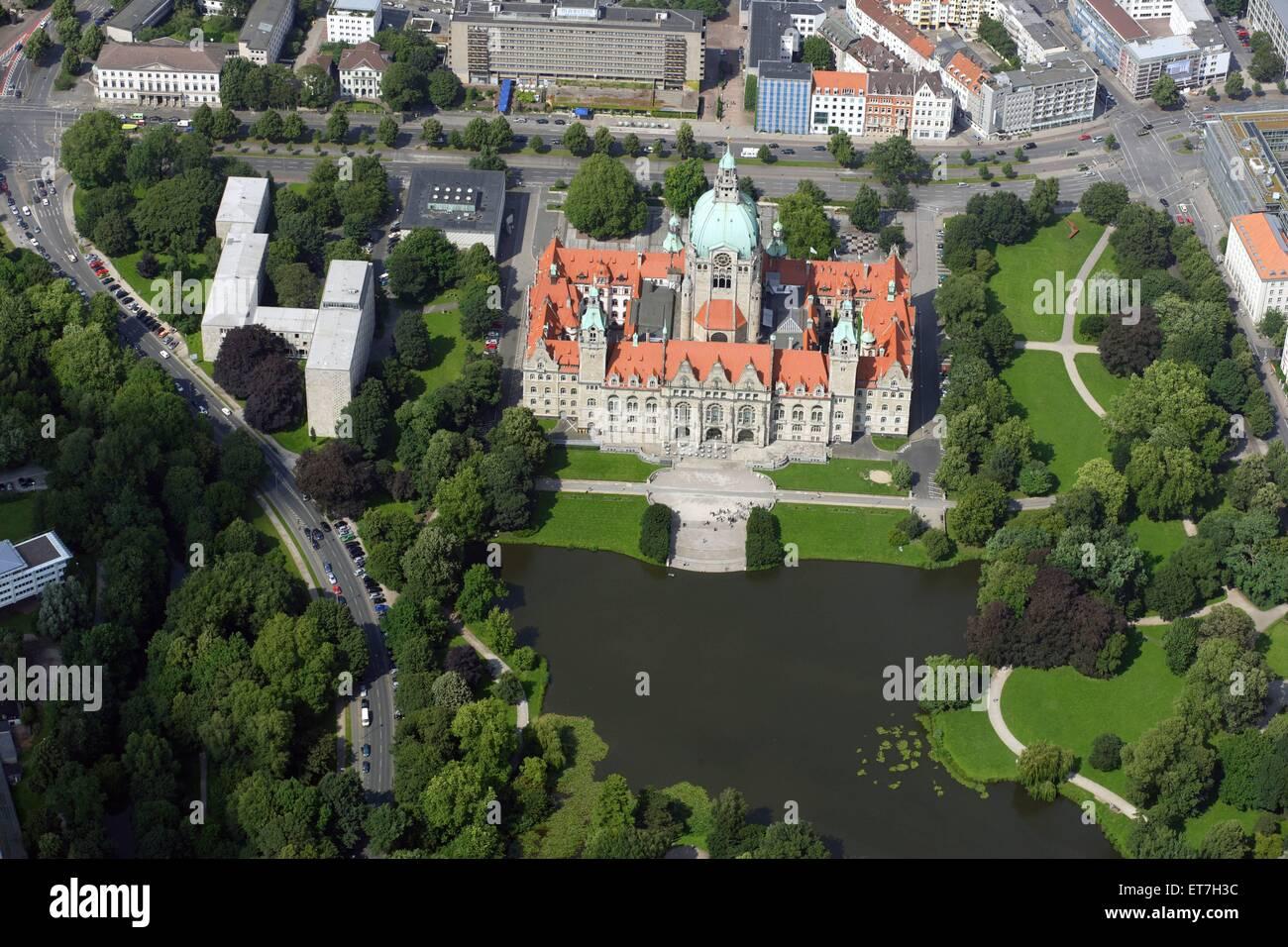 Neues Rathaus Am Maschteich In Hannover Neustadt