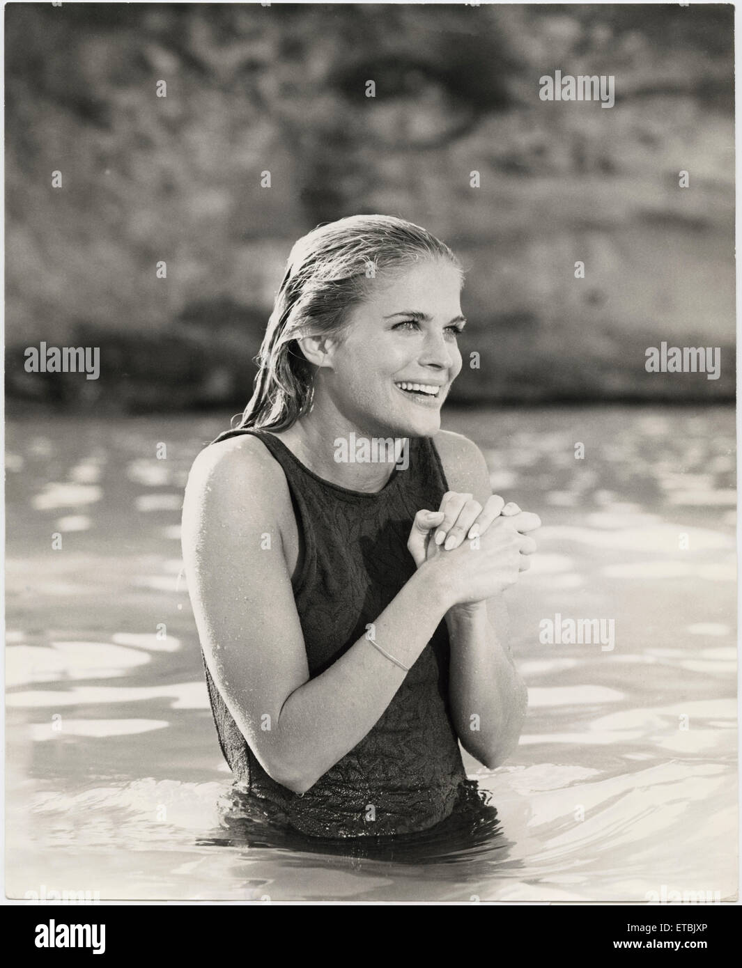 candice bergen on  set of the film the sand pebbles