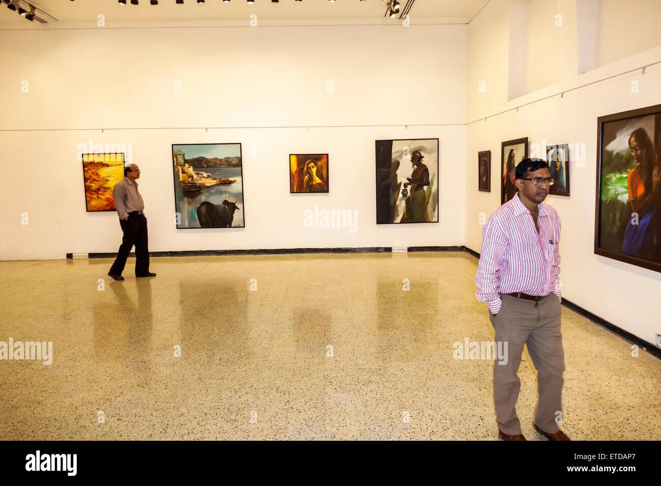 india indian asian mumbai fort mumbai kala ghoda jehangir art gallery stock photo  royalty free