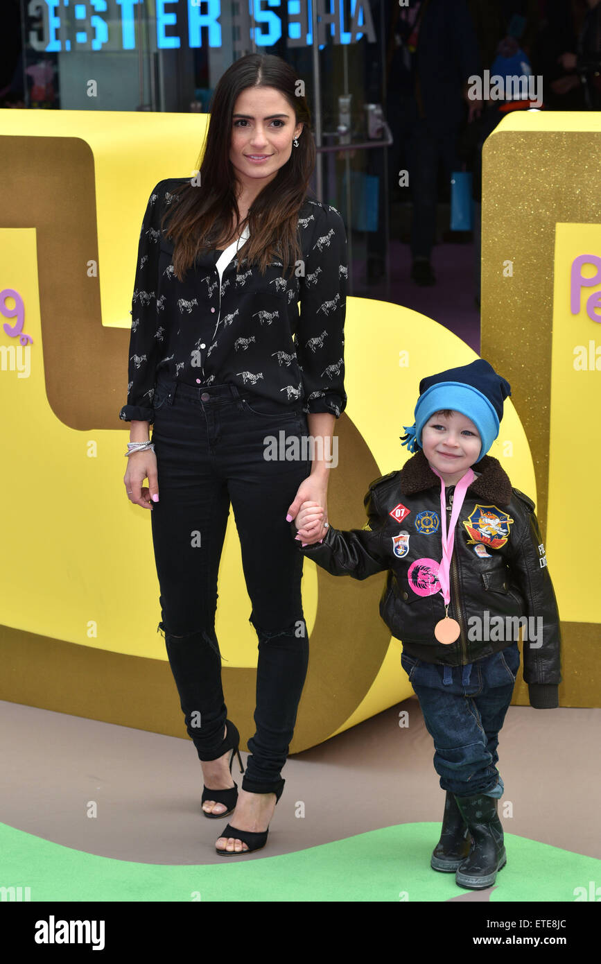 Peppa Pig The Golden Boots Uk Film Premiere Held At The Odeon Stock Photo Royalty Free Image