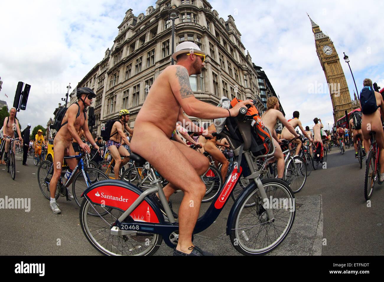 Nude Bike Protest 60