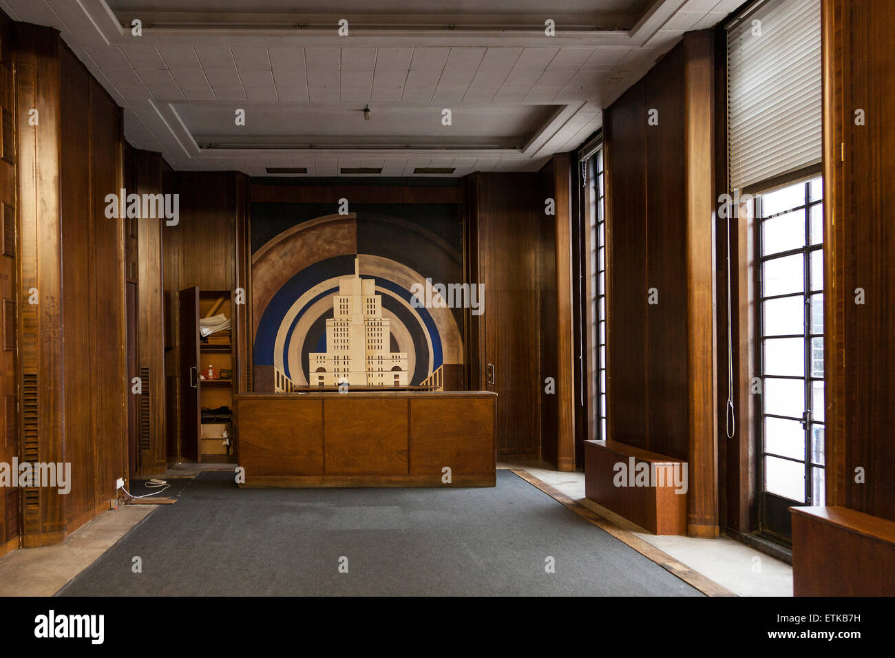 art deco interior architecture stock photos & art deco interior
