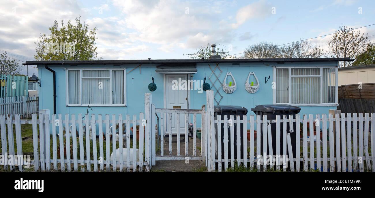 prefabricated bungalow at excalibur estate catford london excalibur