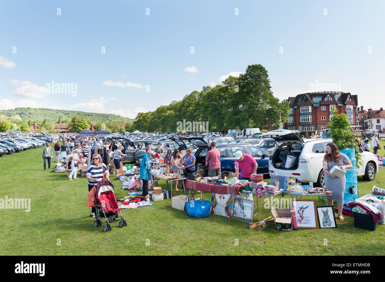 Oxted Car Boot Sale