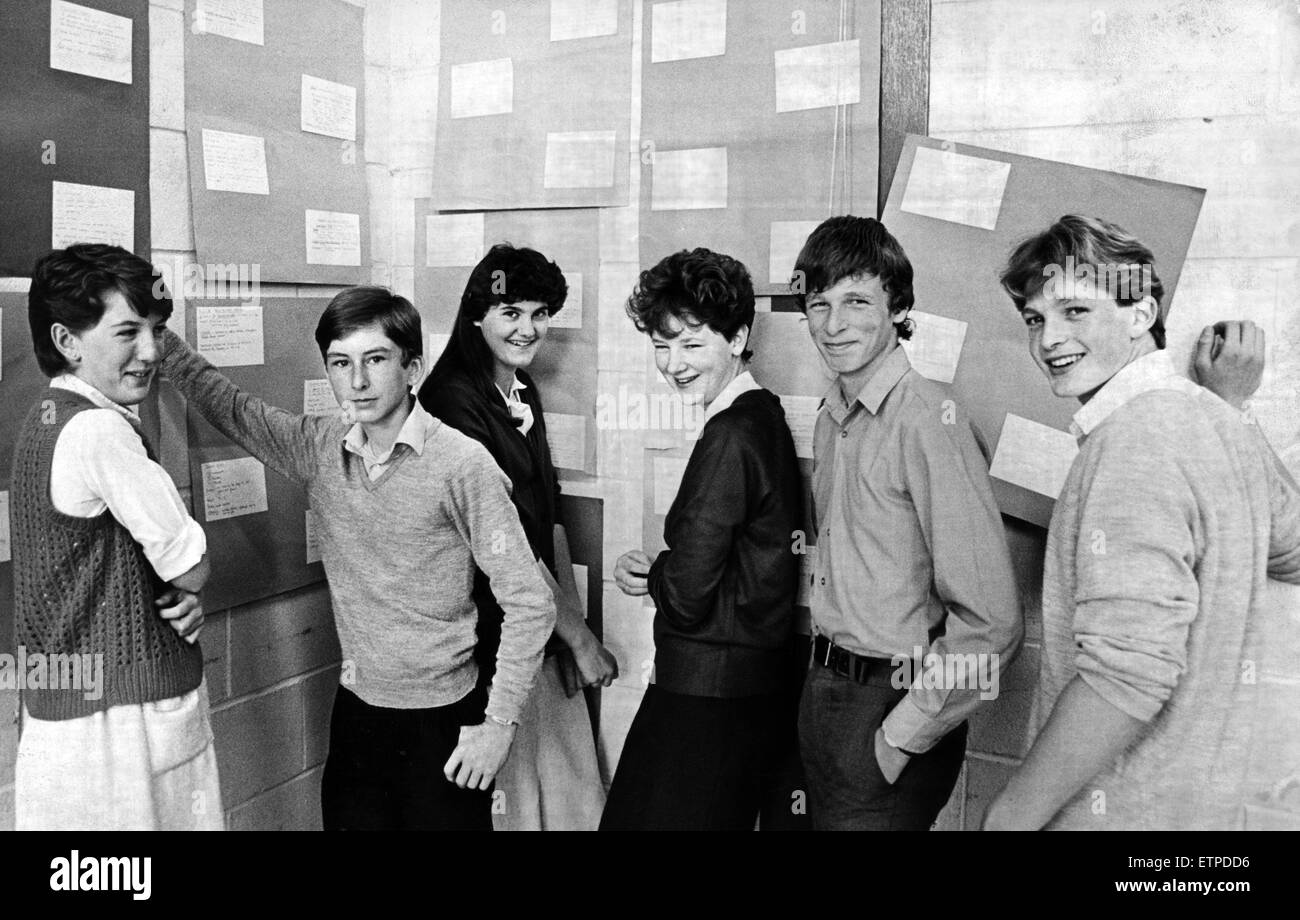 Looking For Jobs At Their Own U0027JobCentreu0027 At De Brus School Are Left To  Right Christine Hayward, Paul Duck, Rachael Bryan, Tracey Roche, Scott  Morris And ...