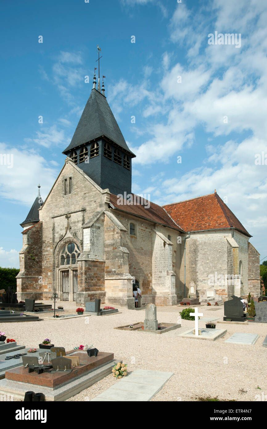France champagne ardenne aube arrembecourt eglise for Bar a champagne saint etienne