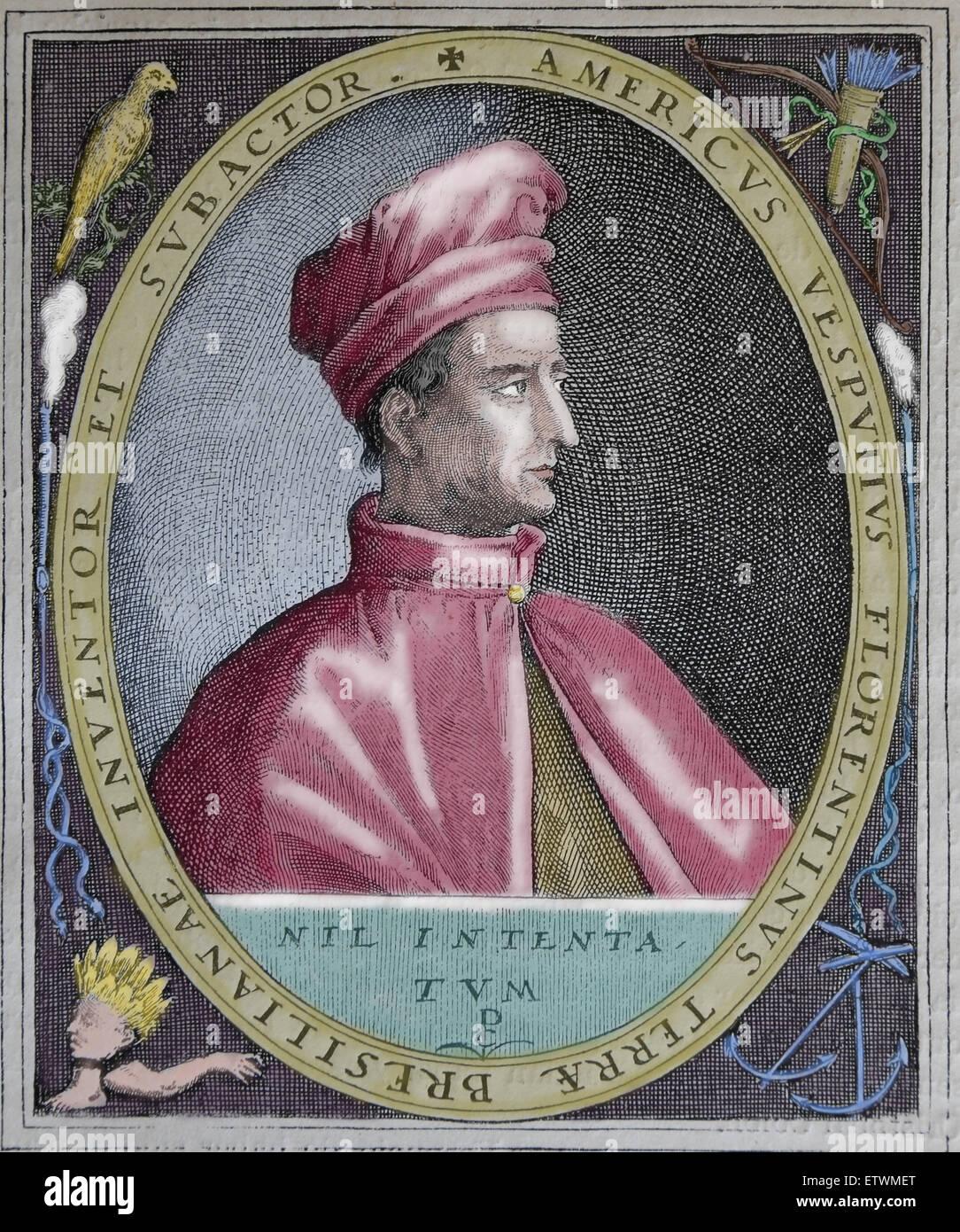 A biography of amerigo vespucci an italian explorer and navigator