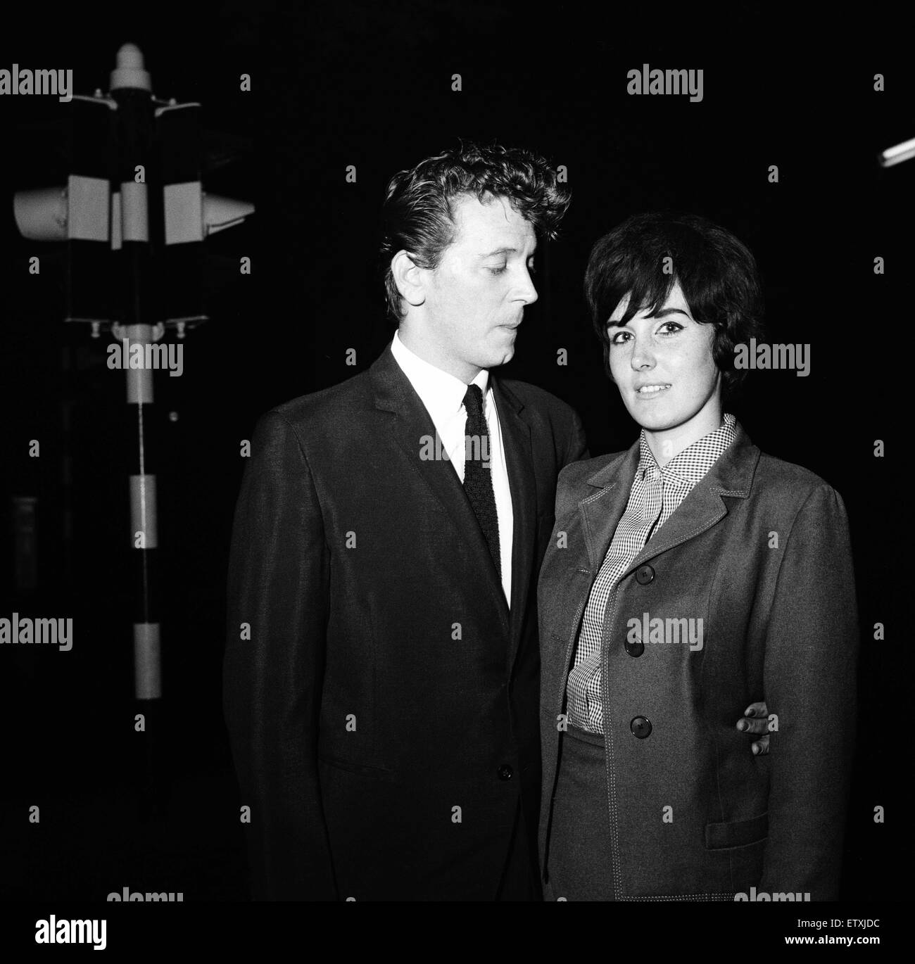 Gene Vincent Reconciled With His Wife Tonight After A