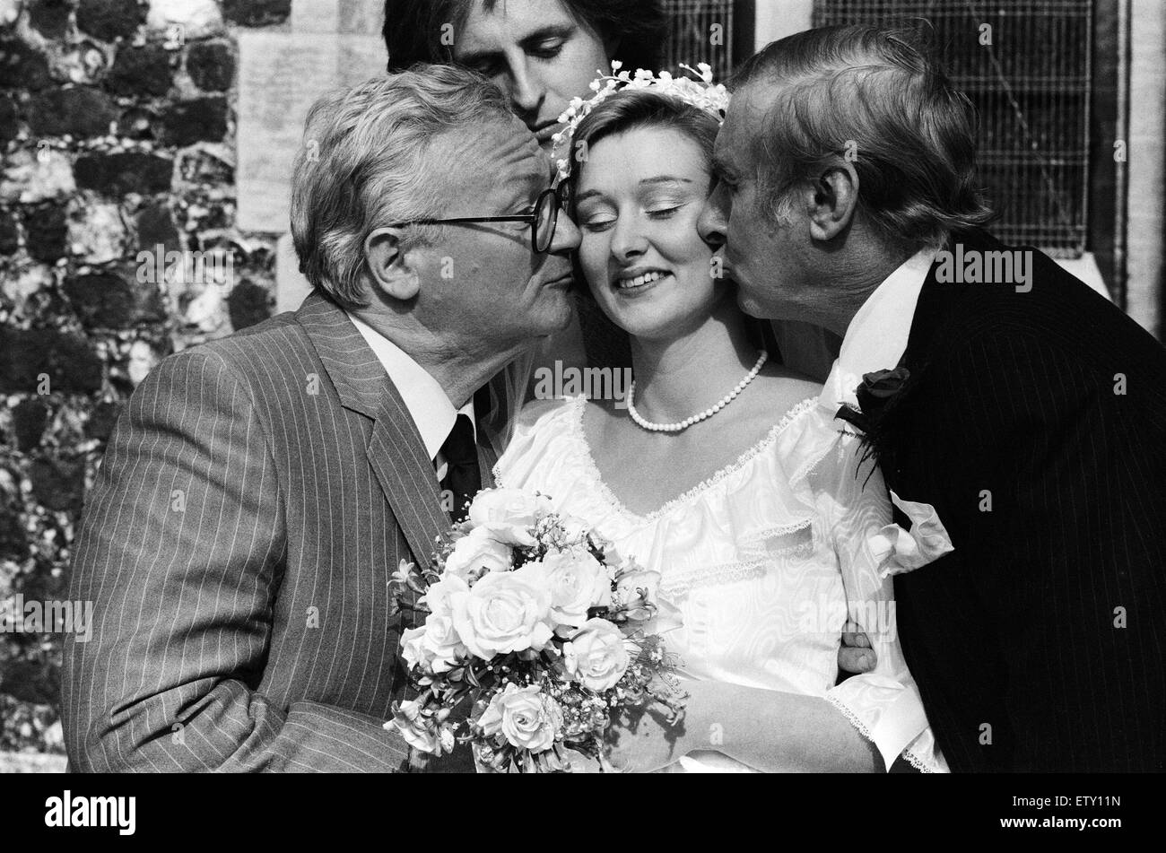 the wedding of spike milligans daughter sile to willie