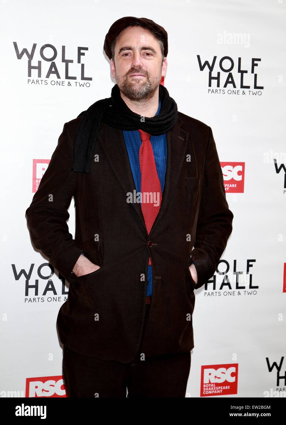 opening day for wolf hall part 1 and 2 at the winter garden