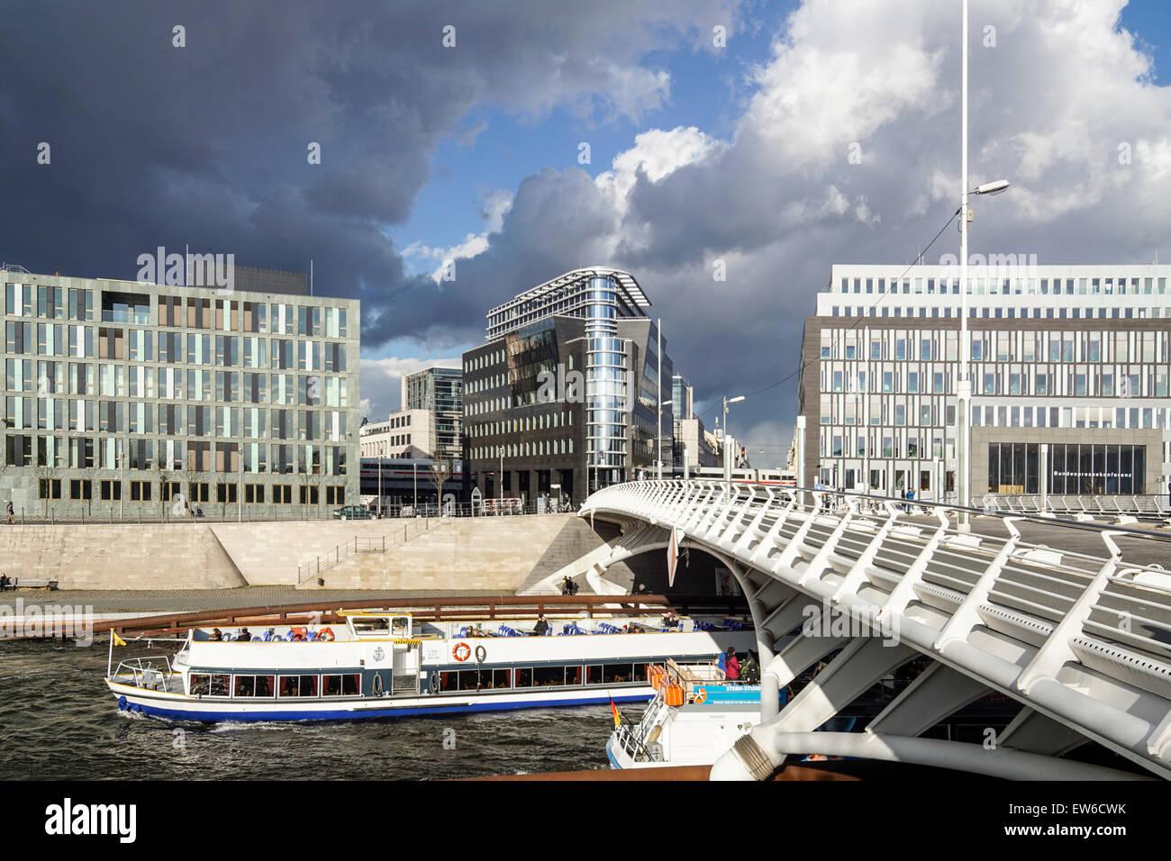 Modern Architecture Germany kronprinzen bridge, modern architecture, calatrava bridge, river