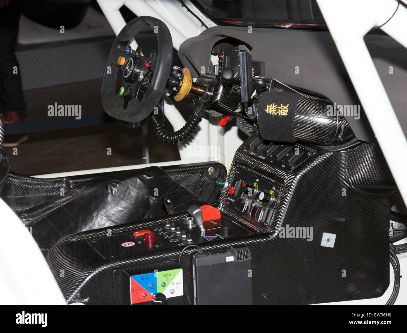 Mercedes-Benz SLS AMG GT3 cockpit 2015 Tokyo Auto Salon Stock ... | {Auto cockpit mercedes 24}