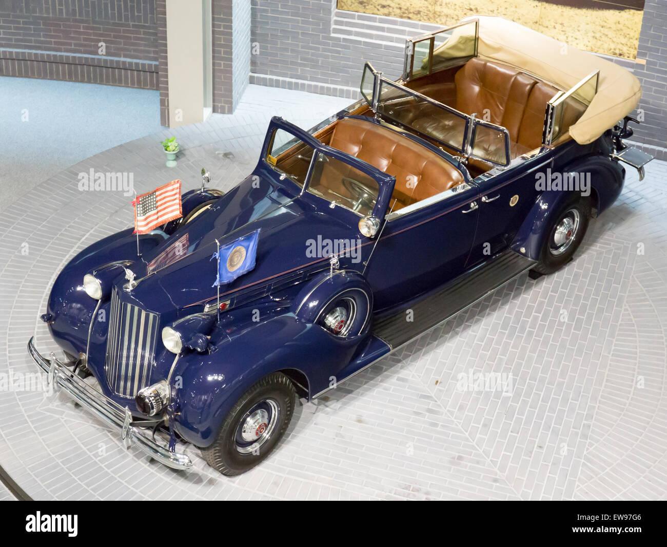 Packard Twelve Presidential Car 1939 Top Toyota