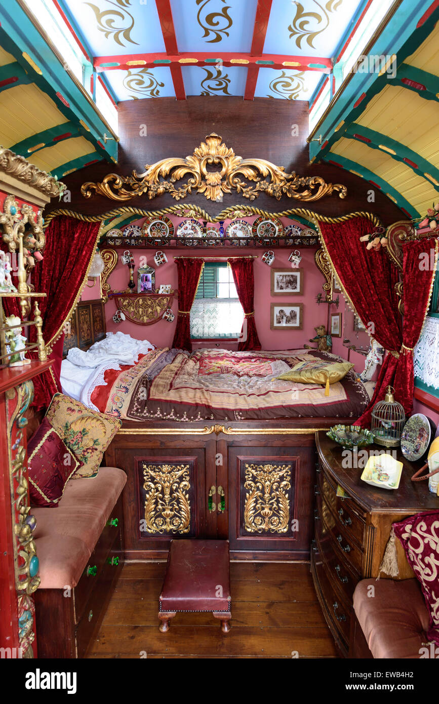 Elegant Gypsy Caravan Interiors On Pinterest  Gypsy Wagon Interior Gypsy