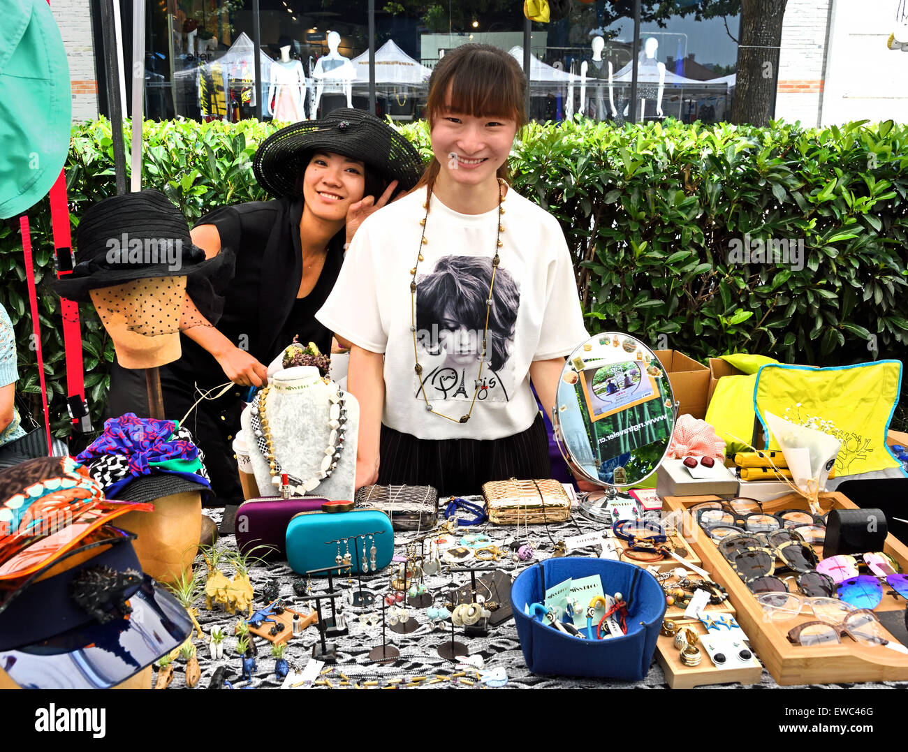 Old Shanghai Street Market The French Concession Luwan And