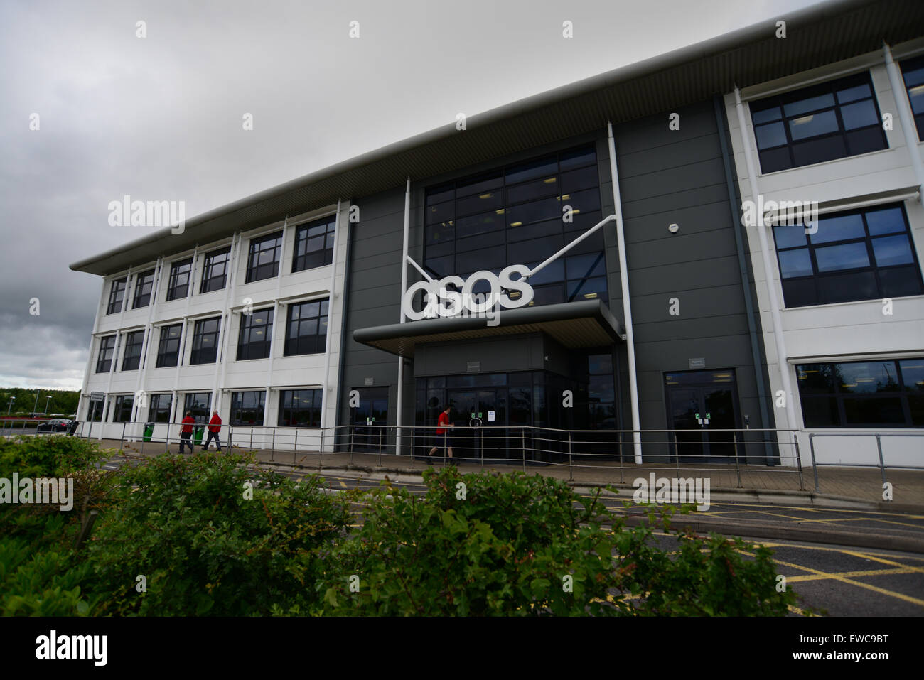 Asos Plc Warehouse, Park Springs Rd, Grimethorpe, Barnsley ...