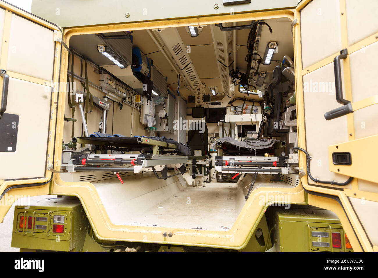 Mowag duro protected all terrain tactical vehicle in 6 6 configuration used as a