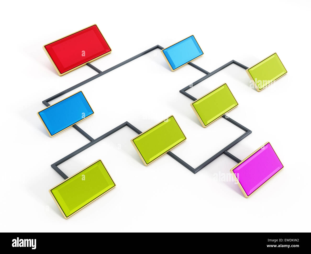 Flow chart in red blue and green color tones isolated on white flow chart in red blue and green color tones isolated on white background geenschuldenfo Image collections