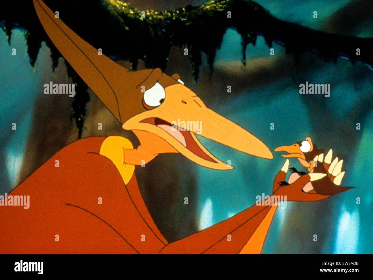 the land before time vii the stone of cold fire stock photo