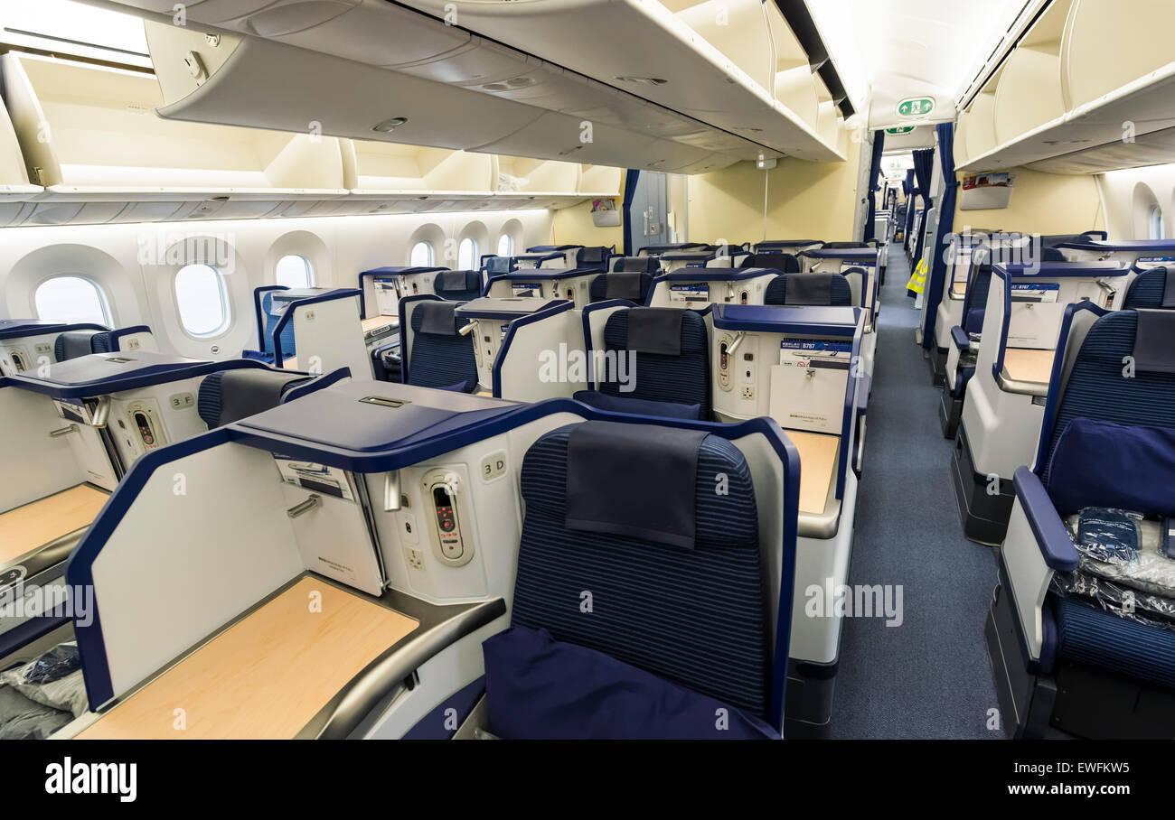 Dreamliner interior business images for Interior 787 dreamliner