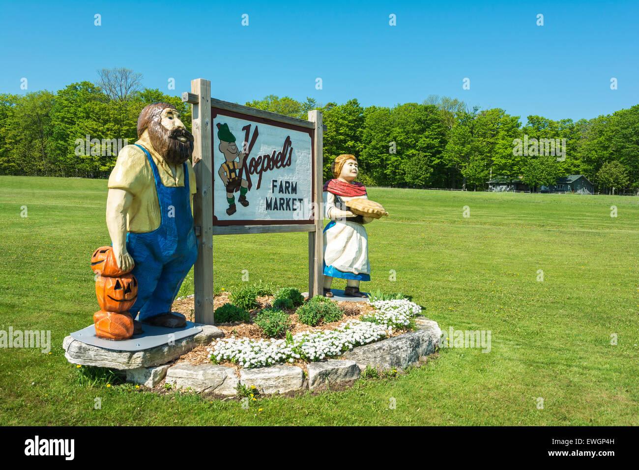 Wisconsin, Door County, Baileys Harbor, Koepsel's Farm Market & Antique  Store - Wisconsin - Door County Antiques Antique Furniture