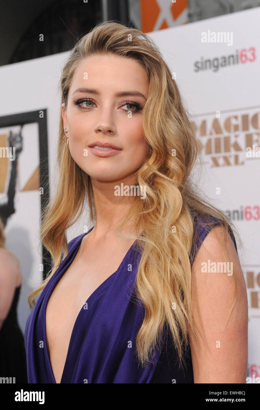 los angeles ca usa 25th june 2015 amber heard at. Black Bedroom Furniture Sets. Home Design Ideas