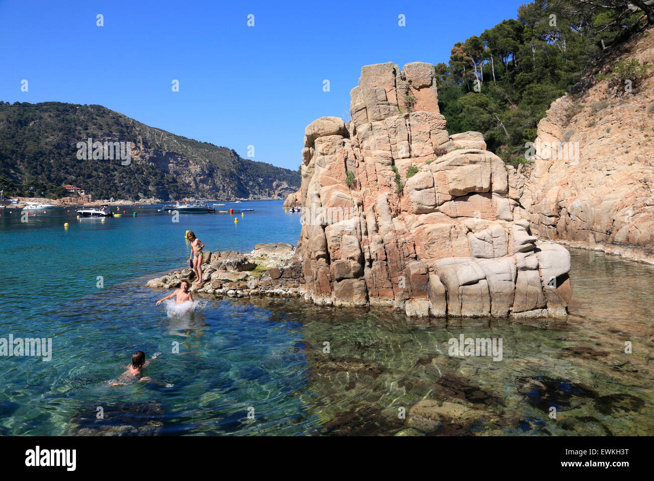Aiguablava beach near begur costa brava catalonia spain - Aiguablava costa brava ...