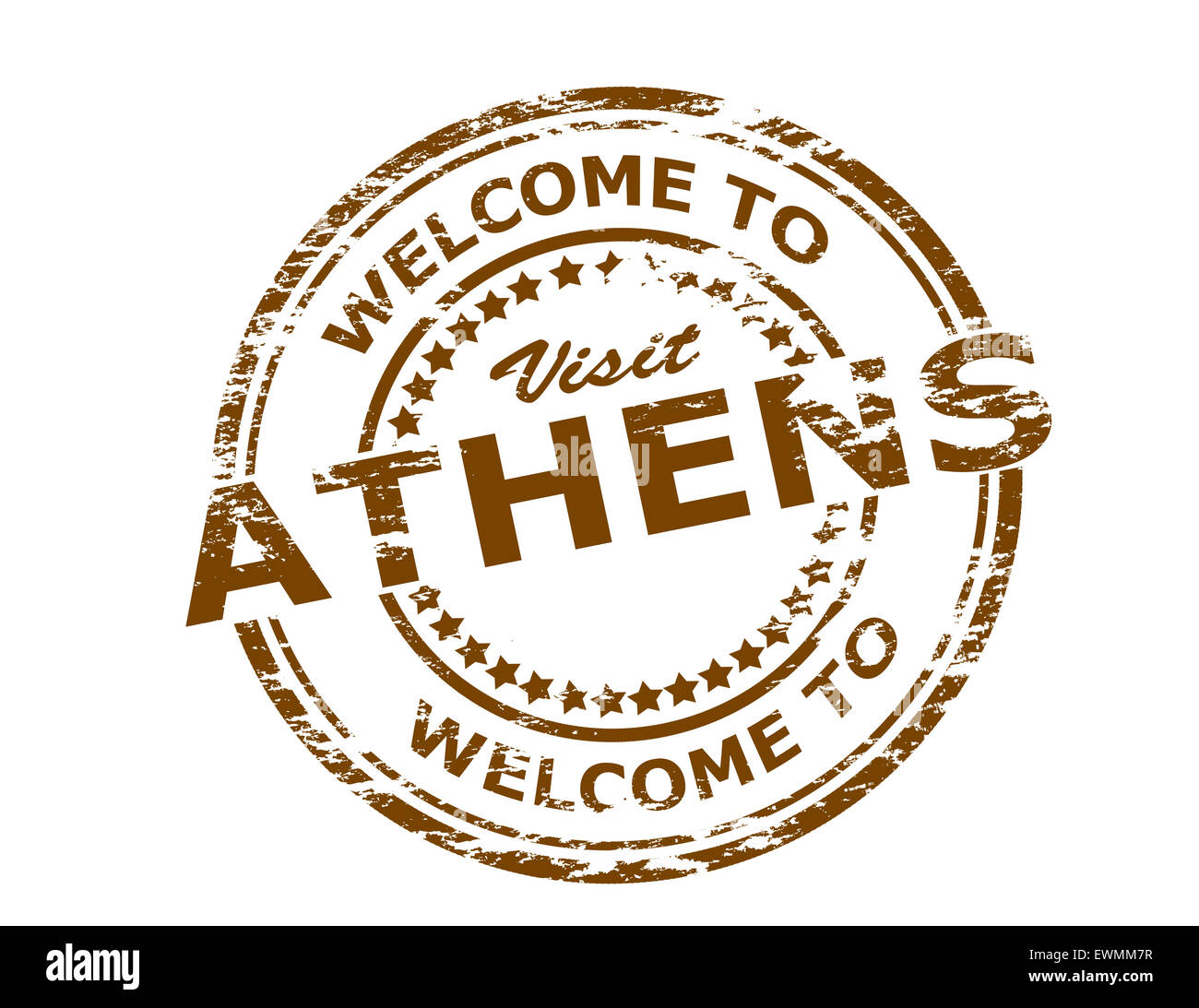 Rubber stamp with text welcome to athens inside illustration stock rubber stamp with text welcome to athens inside illustration buycottarizona Gallery