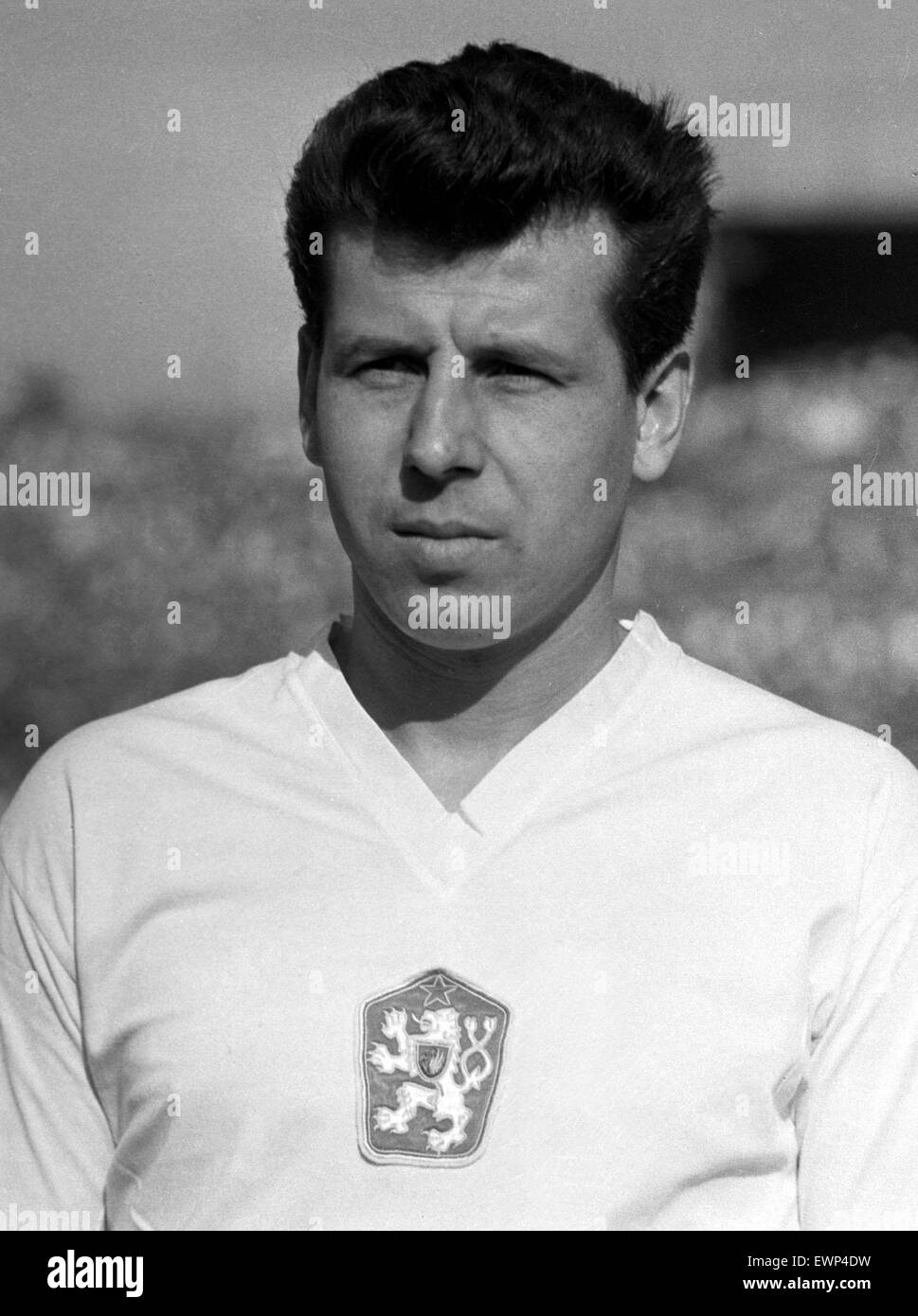 FILE PHOTO Soccer player Josef Masopust member of the silver