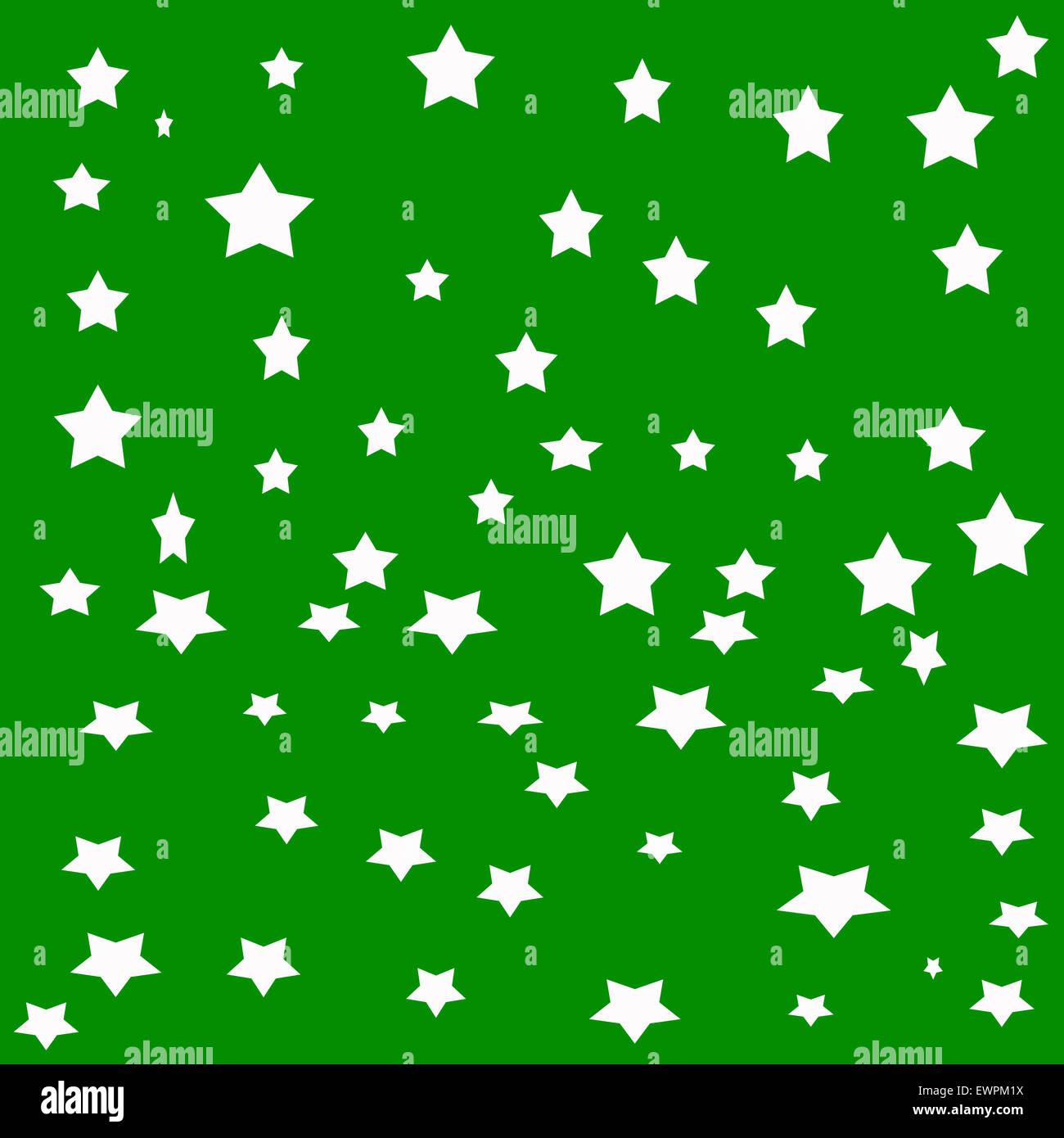 white stars on green background stock photo royalty free