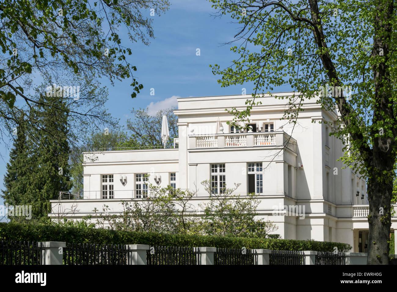 villa wunderkind heiliger see potsdam brandenburg stock. Black Bedroom Furniture Sets. Home Design Ideas
