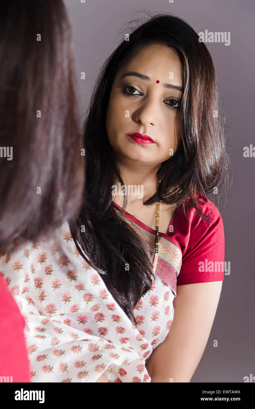 Lonely Mature Indian Housewife